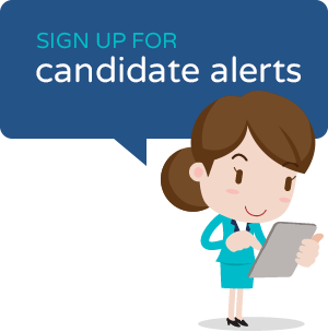 Sign up for Candidate Alerts