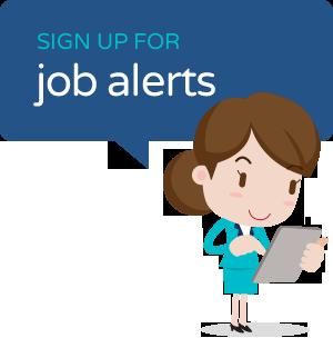 Sign up for Job Alerts